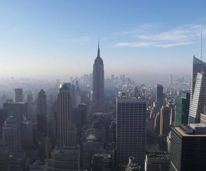 empire state building, new york city, and ny image
