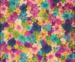 background, flowers, and fondo image
