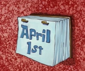 april, spongebob, and funny image