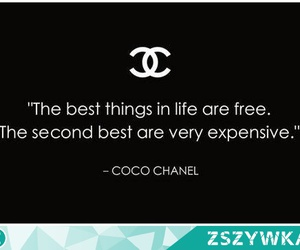 coco chanel, quotes, and text image