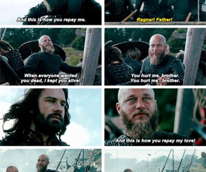 sad, vikings, and rollo image