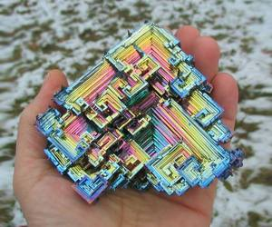bismuth, stone, and crystal image