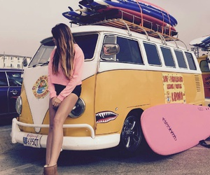 girl, travel, and model image