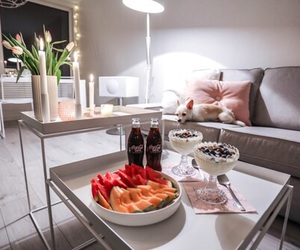 fruit, living room, and food image