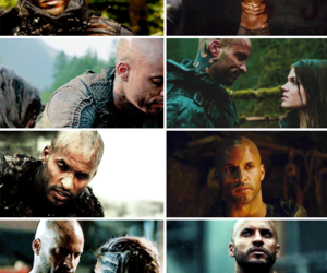 lincoln, ricky whittle, and marie avgeropoulos image