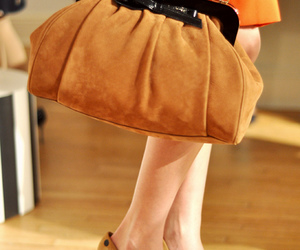 bag, bow, and fashion image