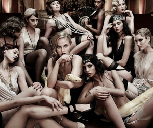 20's, snake, and germany's next topmodel image