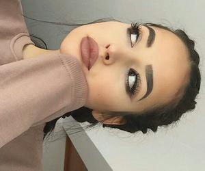 beautiful, makeup, and girrls image