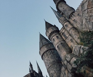 castle, wizard, and harry potter image