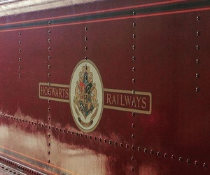 express, train, and harry potter image
