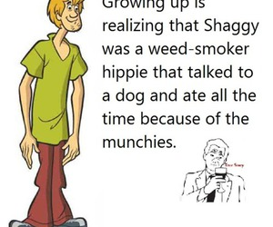 shaggy, funny, and weed image