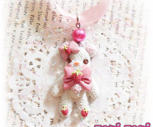 candy necklace, handmade jewelry, and cute jewelry image