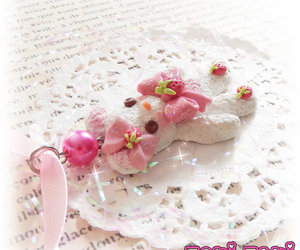 candy necklace, handmade jewelry, and Harajuku image