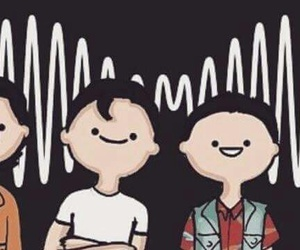 alex turner, arctic monkeys, and matt helders image