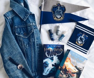 fashion, blue, and hp image