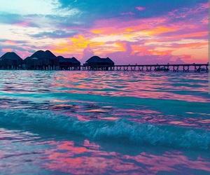 beautiful, beach, and Maldives image