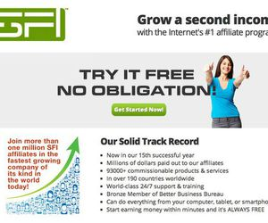 internet income, home-based business, and sfi affiliate image
