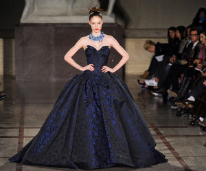 ball gown, model, and Coco Rocha image
