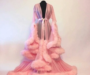 pink, fashion, and robe image