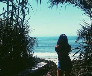 beach, summer, and boho image