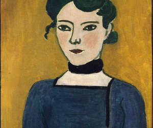 art history, brunette, and expressionism image