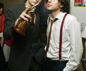 carl barat, pete, and peter doherty image