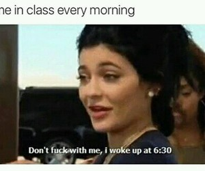 kylie jenner, funny, and school image