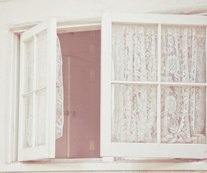 window, white, and vintage image