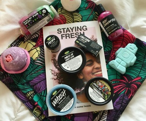 colors, lush, and shop image