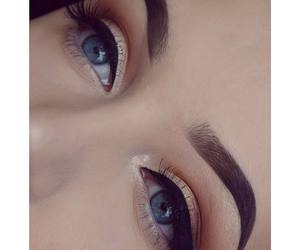 beauty, makeup, and perfection image