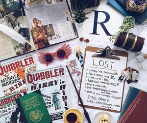 harry potter, lost, and luna lovegood image