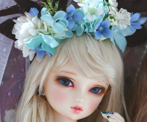 bjd, blue, and cool image