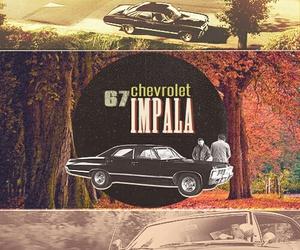 impala, supernatural, and dean image