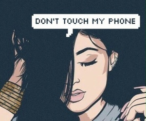 wallpaper, phone, and kylie jenner image
