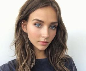 beauty, model, and girl image
