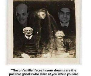 ghost, Dream, and horror image