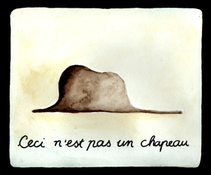 le petit prince, chapeau, and elephant image