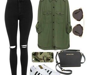 adidas, army, and casual image