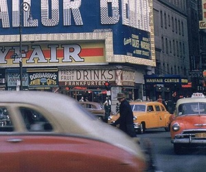 1950's, city, and nyc image