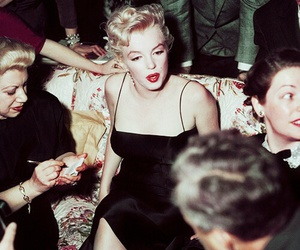 Marilyn Monroe and fashion image
