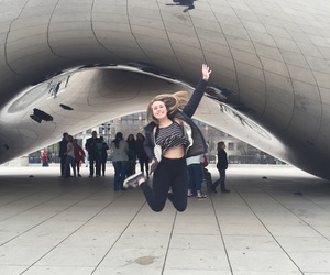 bean, chicago, and city image