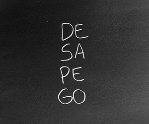desapego and text image