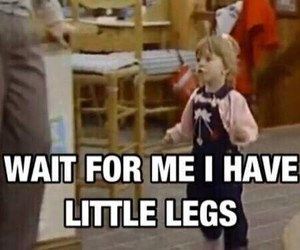 funny, full house, and legs image