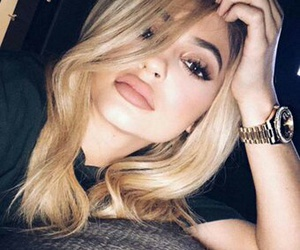 blonde and kyliejenner image