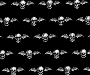 avenged sevenfold, background, and iphone image