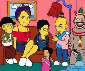 simpsons, freak show, and ahs image