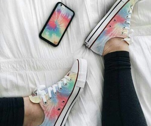 iphone, converse, and shoes image
