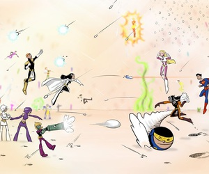 losh and legion of super heroes image