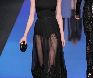 dress, elie saab, and runway image