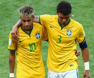 brothers, neymar, and jogadores image